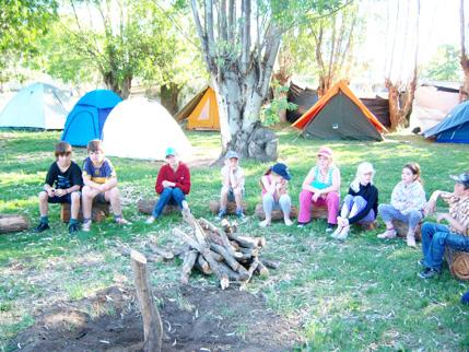 Definicion de fogon de campamento